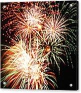 Fireworks 1569 Acrylic Print by Michael Peychich