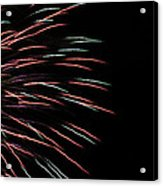 Fireworks Abstract 1 Acrylic Print