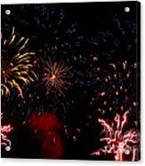 Fireworks At Oshkosh Airventure 2012. 01 Acrylic Print