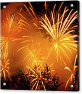 Fireworks Finale Acrylic Print