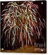 Fireworks II Acrylic Print