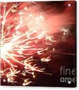 Fireworks In Texas 2 Acrylic Print