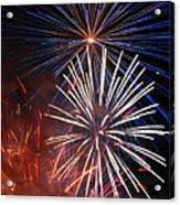 Fireworks Rectangle Acrylic Print
