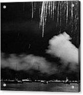 Fireworks Tahoe Ca Acrylic Print