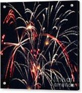 Fireworks Two Acrylic Print