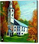 First Baptist Church Of America Acrylic Print