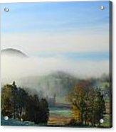 First Frost Peacham Vermont Acrylic Print