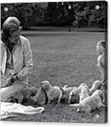 First Lady Betty Ford And The Familys Acrylic Print