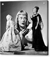First Lady Dolls Acrylic Print by Grundy