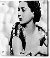 First Lady, Kay Francis, 1937 Acrylic Print