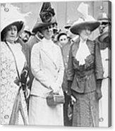 First Lady, Mrs. William Taft, Second Acrylic Print