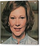 First Lady Rosalynn Carter Acrylic Print by Everett