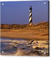 First Light At Cape Hatteras - Fs000257 Acrylic Print
