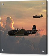 First Light Strike Acrylic Print by Pat Speirs