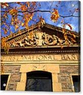 First National Bank Acrylic Print