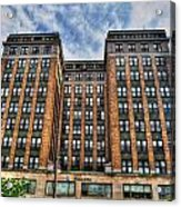 First Niagara Building With Takis Acrylic Print