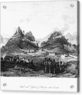 First Opium War, 1841 Acrylic Print
