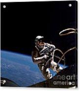 First U.s. Spacewalk Acrylic Print