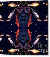 Fish Ballet Acrylic Print