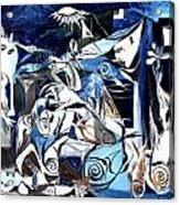 Fish Guernica Acrylic Print