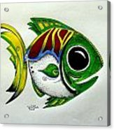 Fish Study 2 Acrylic Print