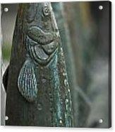 Fish Up Acrylic Print by David Taylor