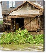 Fisherman Boat House Acrylic Print by Artur Bogacki