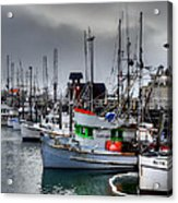 Fishermans Wharf Acrylic Print