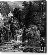 Fishermen, 19th Century Acrylic Print by Granger