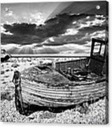 Fishing Boat Graveyard Acrylic Print
