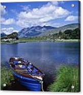 Fishing Boat On Upper Lake, Killarney Acrylic Print