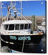 Point Pleasant - Fishing Boat Acrylic Print