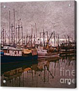 Fishing Boats Of Steveston-ca Acrylic Print