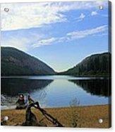 Fishing Conkle Lake Acrylic Print