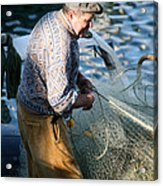 Fishing Days Acrylic Print