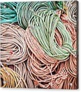 Fishing Lines Acrylic Print