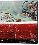 Fishing Net Acrylic Print by Sophie Vigneault