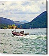 Fishing On Burton Acrylic Print