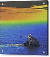 Fishing On The Ocean Acrylic Print