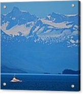 Fishing The Inside Passage Acrylic Print