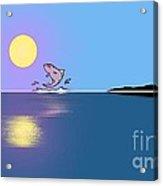 Fishy Sunrise Acrylic Print