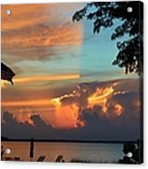 Fitting Sunset Acrylic Print