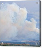 Flagstaff Fire Day One 6pm Acrylic Print