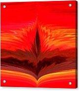 Flame 3 Acrylic Print