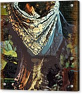 Flamenco Series No 1 Acrylic Print