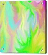 Flames / Chamas Acrylic Print by Rosana Ortiz