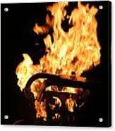 Flames Acrylic Print