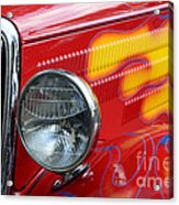 Flaming Hot Rod 2 Acrylic Print