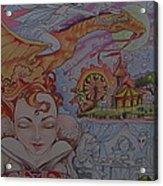 Flight Of Fancy Acrylic Print by Jackie Rock