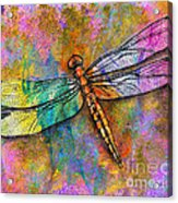 Flight Of The Dragonfly Acrylic Print